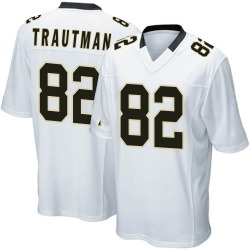 Adam Trautman New Orleans Saints Youth Game Nike Jersey - White