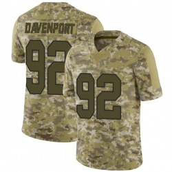 Marcus Davenport New Orleans Saints Men's Limited 2018 Salute to Service Nike Jersey - Camo