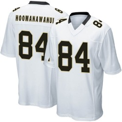 Michael Hoomanawanui New Orleans Saints Men's Game Nike Jersey - White