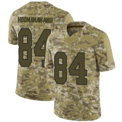 Michael Hoomanawanui New Orleans Saints Men's Limited 2018 Salute to Service Jersey - Camo