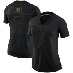 Taysom Hill New Orleans Saints Women's Limited 2020 Salute To Service Nike Jersey - Black