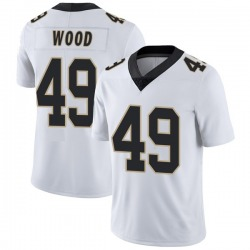 Zach Wood New Orleans Saints Youth Limited Vapor Untouchable Nike Jersey - White